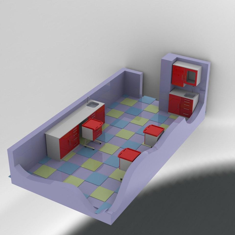 Laboratuar Odası Tasarımı 3