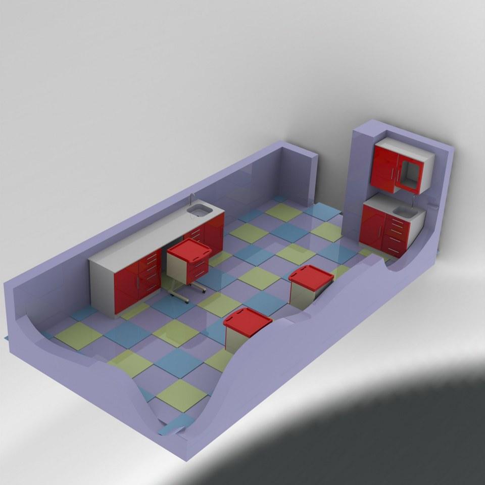 Laboratuar Odası Tasarımı 2