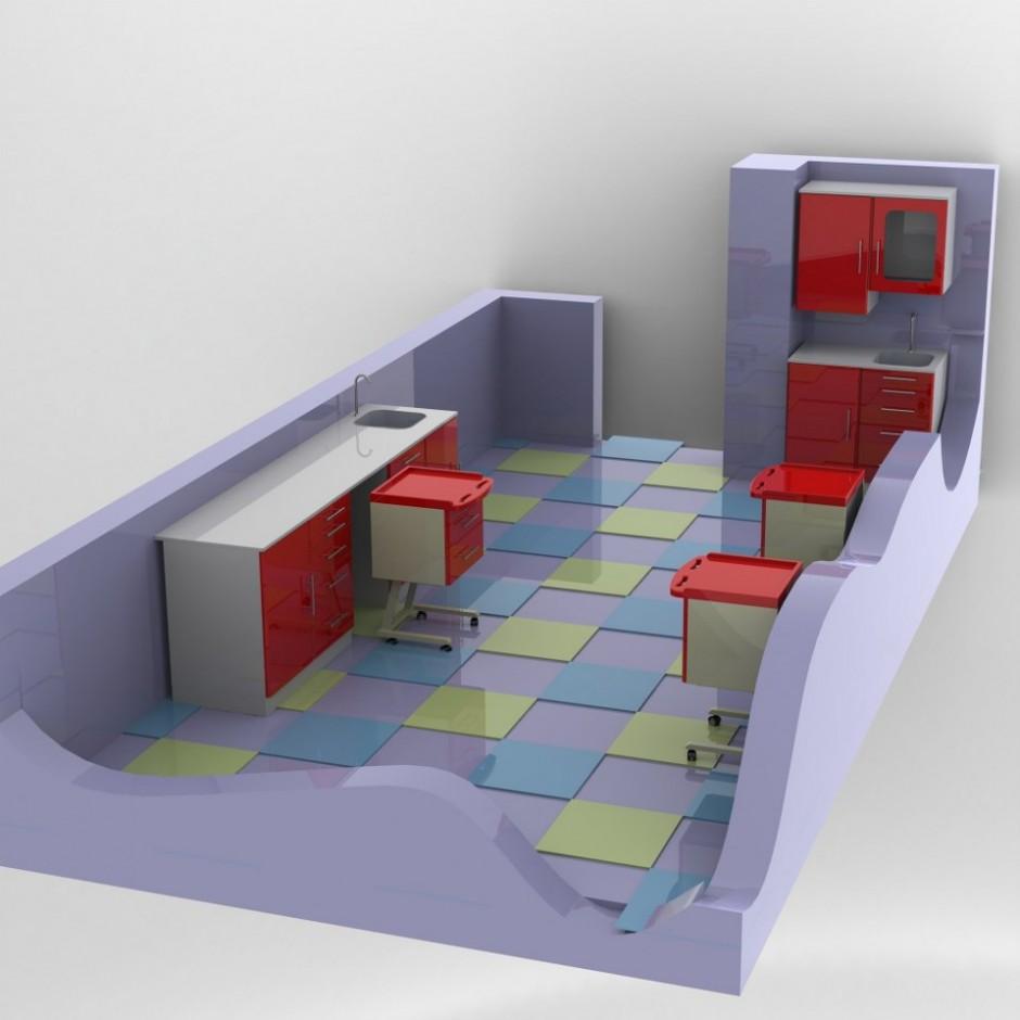 Laboratuar Odası Tasarımı