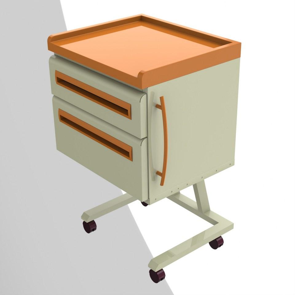 KD100-Mobil Modül 2 Çekmeceli