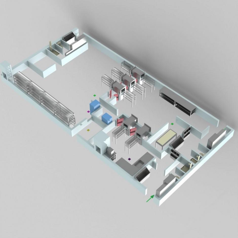 Sterilizasyon Odası Tasarımı