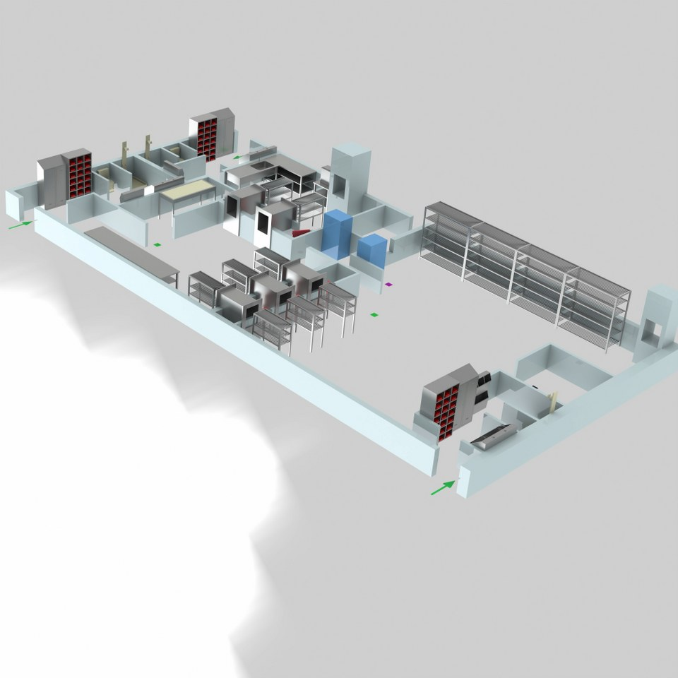 Sterilizasyon Odası Tasarımı 8