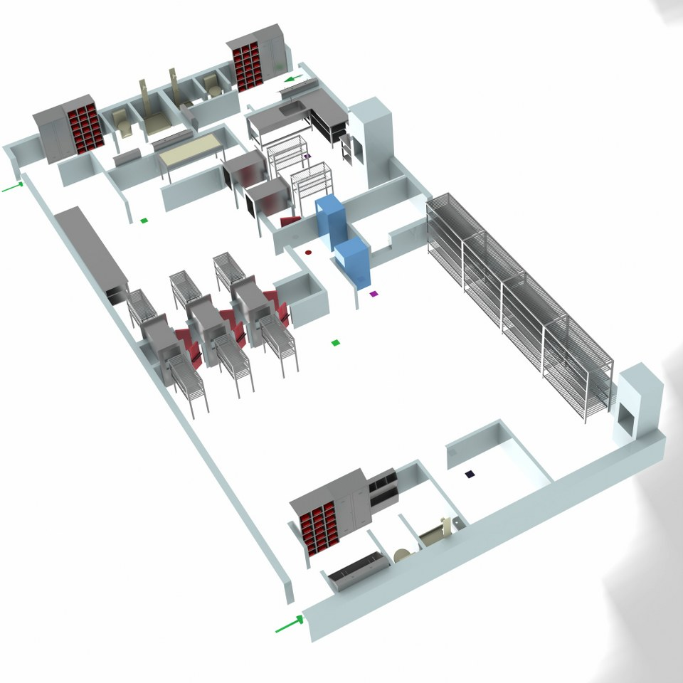 Sterilizasyon Odası Tasarımı 7