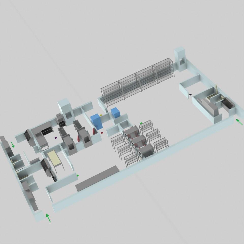 Sterilizasyon Odası Tasarımı 2