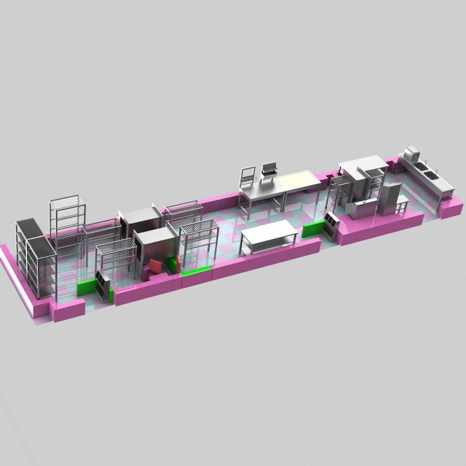Sterilizasyon Odası Tasarımı 3