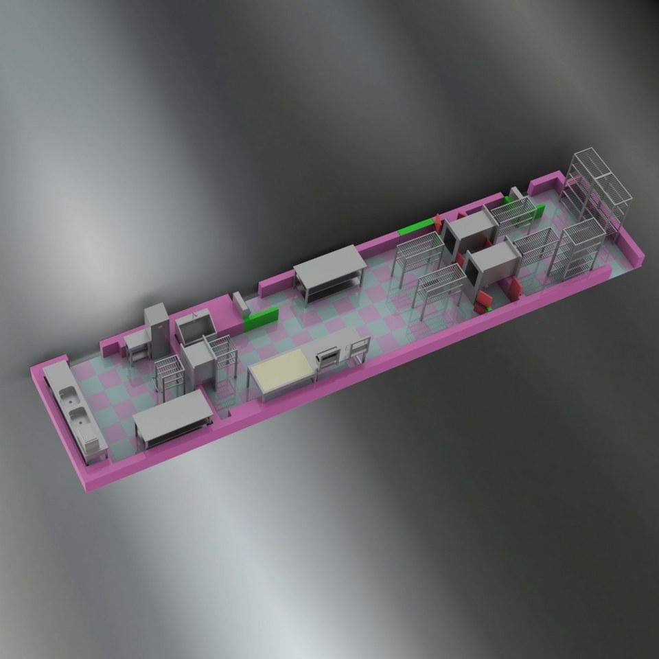 Sterilizasyon Odası Tasarımı 5